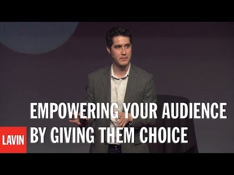 TED Speaker David Kwong on Empowering your Audience by Giving them Choice