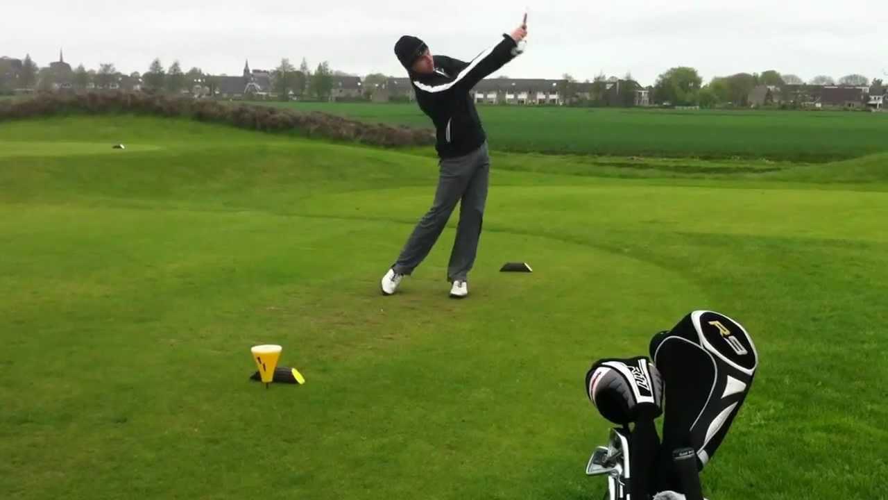 huck de haas afslag golfclub liemeer par 3 - YouTube Golfclub Liemeer