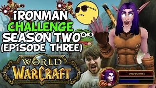 World Of Warcraft Iron Man Challenge S2 Episode 3: 'Spooky Mobs!'