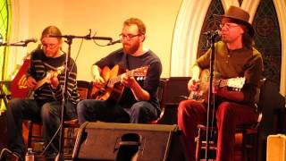 Caleb Miles & The Hupman Brothers - Silver Spoon (St. Croix United Church, 21 February 2015)
