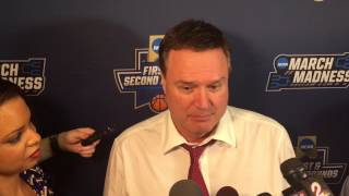 Coach Self after KU's win over Michigan State