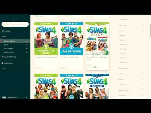 Sims 4 Installing Extension Packs