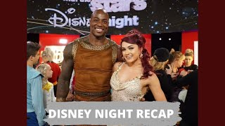 DWTS Disney Night Recap!! *The good and the bad!*