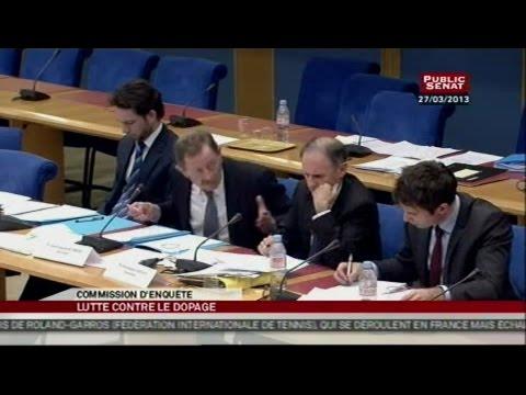 Audition de Jean-François Lamour par la commission d'enquête sur le dopage - AUDITION (29/03/2013)