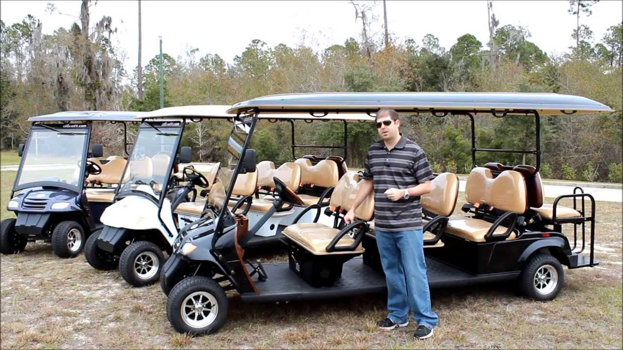 Bintelli 8pr Street Legal Golf Cart For Sale 8 Passengers From Bintelli Electric Vehicles Youtube