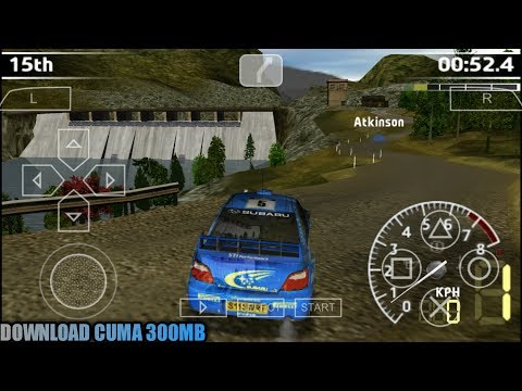 Cara Download Game WRC - FIA World Rally Championship PPSSPP Android