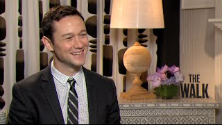 THE WALK interviews - Joseph Gordon-Levitt, James Badge Dale, Charlotte Le Bon, Ben Schwartz