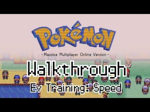 PokeMMO - Ev Training: Speed + Basics