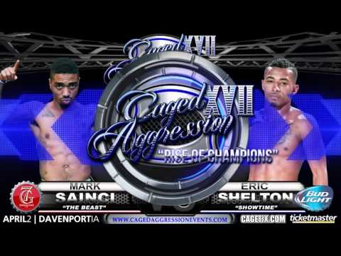 "Caged Aggression XVII ""Rise of Champions"" Night 2. Fight 10. Eric Shelton vs Mark Sainci"