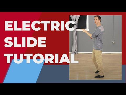 The Electric Slide Dance Steps (3 Variations) - Line Dance