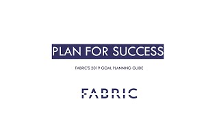 Plan for Success with Fabric's Goal Planning Guide
