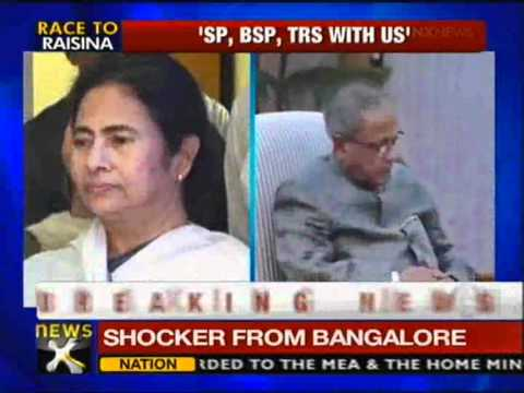Presidential poll: Cong takes potshots at TMC - NewsX