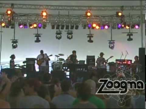 """Zoogma - """"Ghostbusters"""" Live at Wakarusa 6/4/10"""