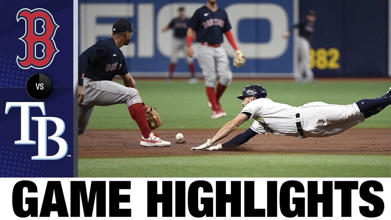 Download Red Sox vs. Rays Game Highlights (7/31/21) | MLB Highlights