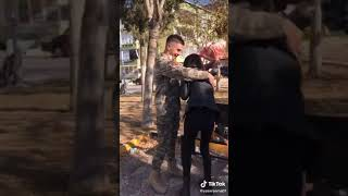 Askerin Ailesine Sürprizi (Tiktok)