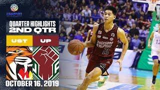 UST vs. UP - October 16, 2019  | 2nd Quarter Highlights | UAAP 82 MB