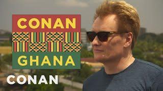 Conans Ghanaian History Lesson - CONAN on TBS