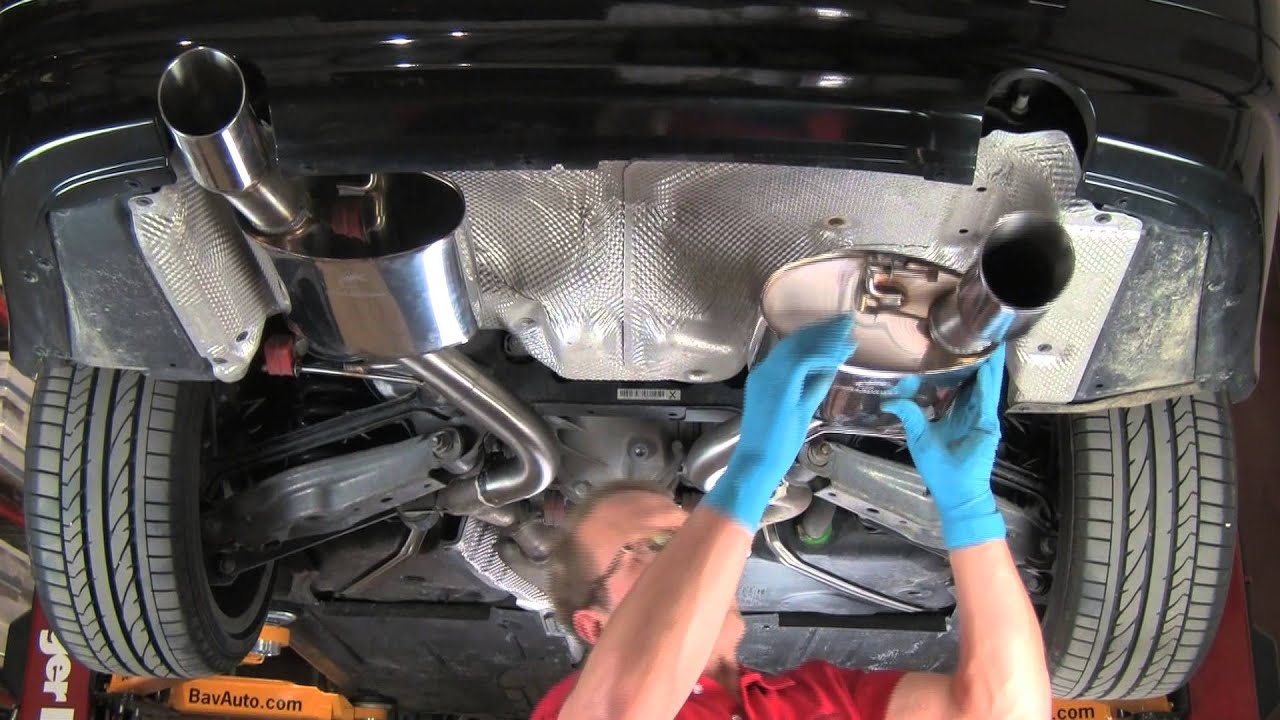 how to install a performance free flow exhaust on a bmw or mini