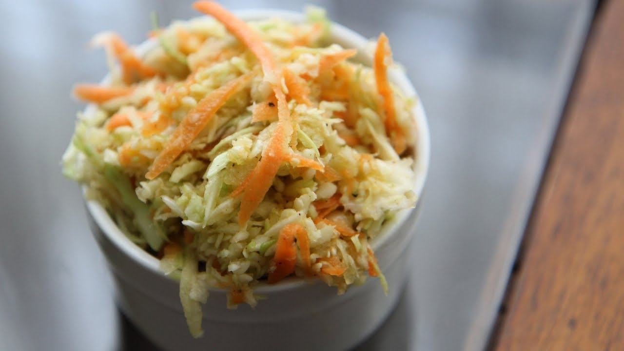 Vegan coleslaw recipe vegan cole slaw without mayonnaise youtube - Mayonnaise without eggvegan recipes ...