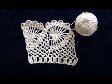 How To Crochet Lace Trim Edging Pattern 710by Thepatternfamily