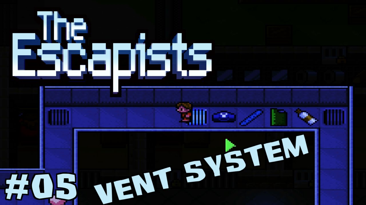 Vent System The Escapists Exploring The Vent System Center Perks 05 Youtube