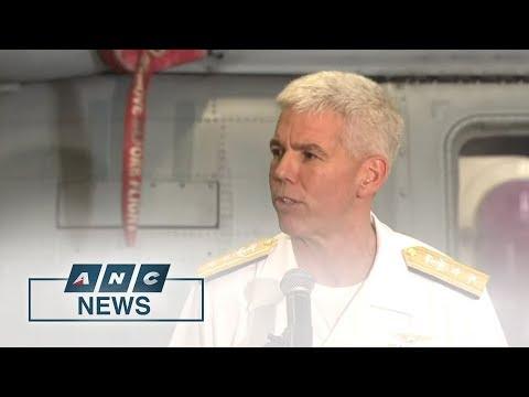 USS Ronald Reagan makes port call in Manila | The World Tonight