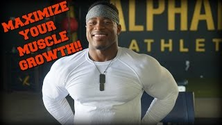 POWERBUILDING TO MAXIMIZE MUSCLE GROWTH | My Powerbuilding Training Split Explained