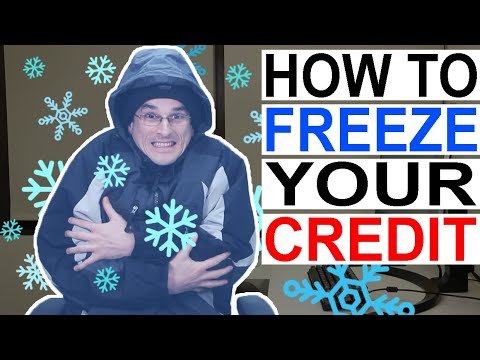 How To FREEZE Your Credit Reports (Equifax, TransUnion, And Experian)