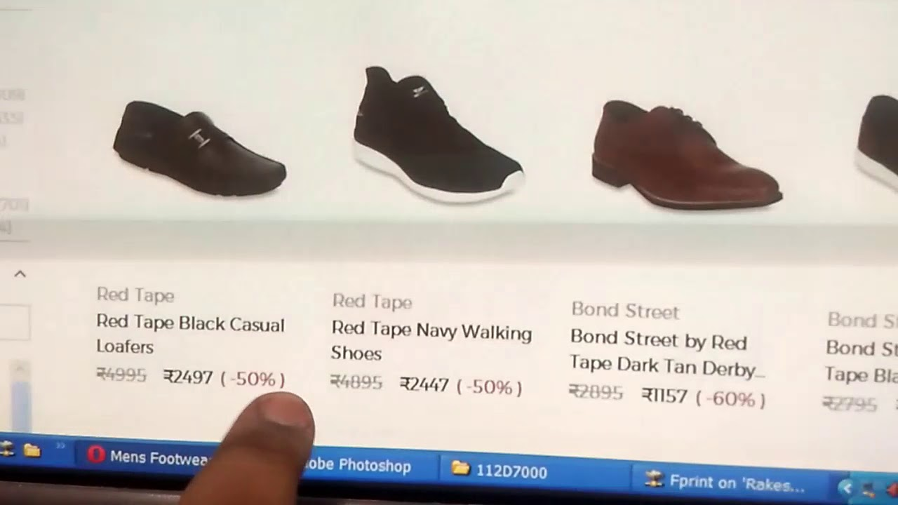 4d558a90c7 Red Tape Shoes Sale 60% Off | red tape shoes for men - YouTube
