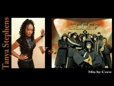 Tanya Stephens - Its a pity  Vs.  Seeed - Waterpumpee