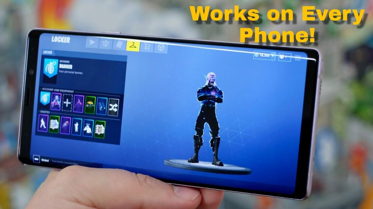Play Fortnite On Incompatible Devices - Fortnite Android For All  Unsupported Phones (cloud)
