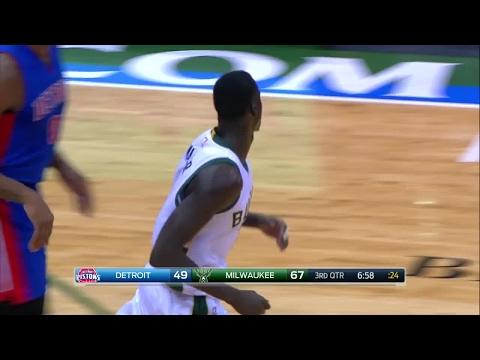 Quarter 3 One Box Video :Bucks Vs. Pistons, 2/13/2017 12:00:00 AM