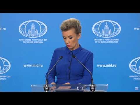 """Мария Захарова назвала """"каверзой"""" вопрос про Любовь Соболь"""