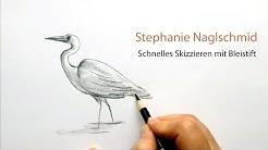 Urban Sketching - Schnelle Bleistiftskizze