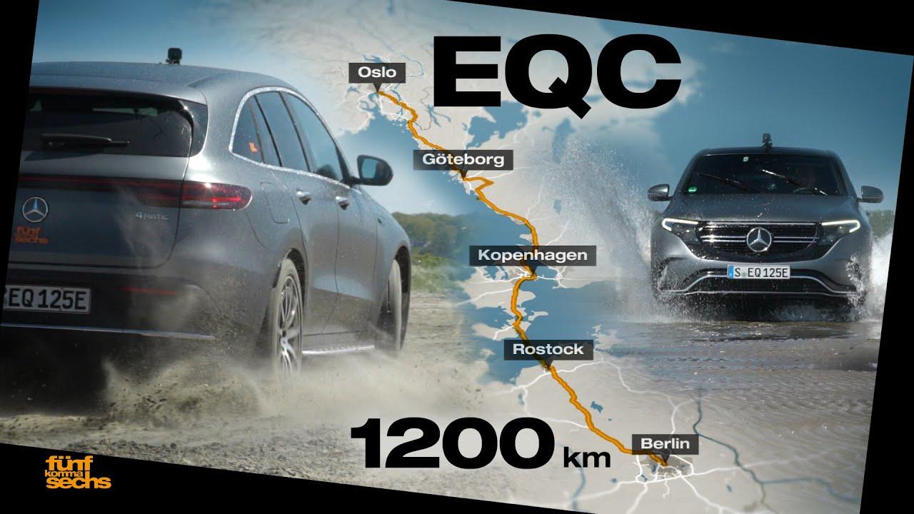 Mit dem Mercedes EQC von Oslo nach Berlin