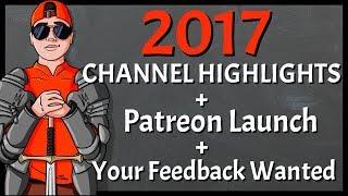 GRM Adrian 2017 Channel Highlights | Patreon Launch | Feedback