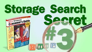 Self Storage Search Secret #3: Beware Of Paid Ads When Clicking On Self Storage Search Engine Links!