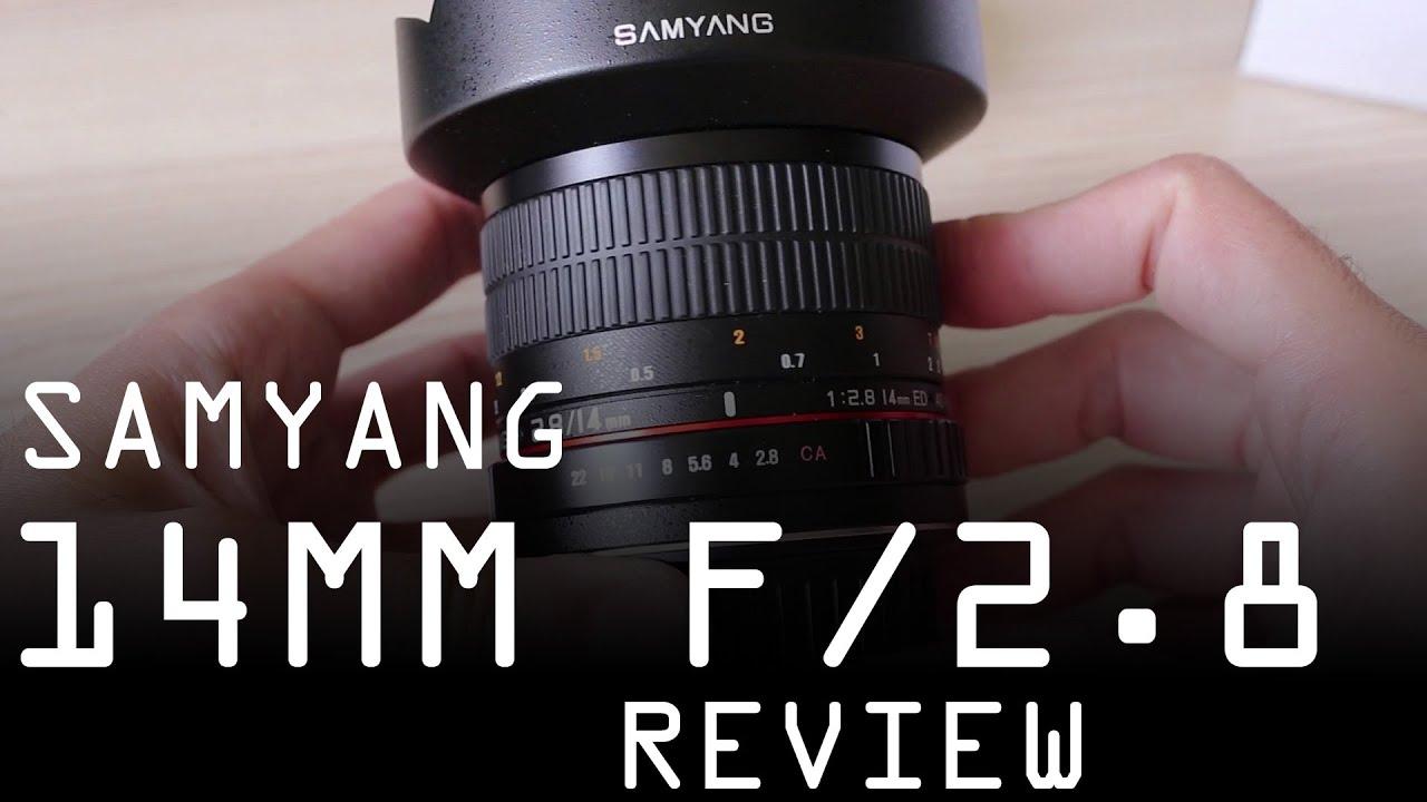 Samyang 14mm F2 8 detailed review