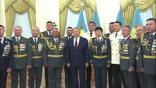 Президент РК вручив генеральські погони і державні нагороди