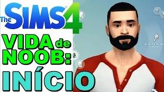 The Sims 4 (Parte 1) - O Início Criando O Noob