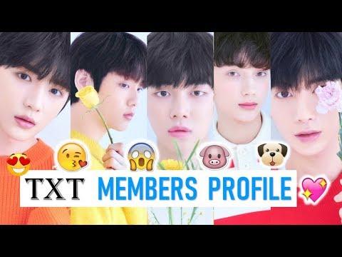 TXT Members Profile
