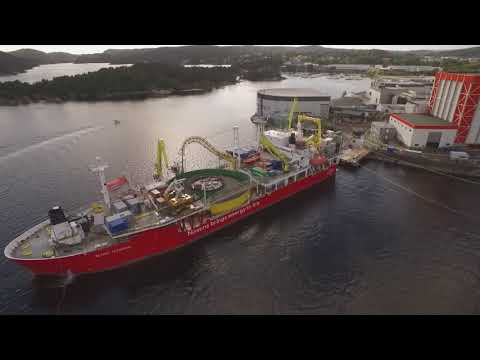 Beatrice Offshore Wind Farm: Final Section of Nexans Power Export Cable Sails To Scotland