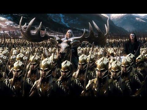The Hobbit (2013) - Battle Of The Five Armies. Отрывок из фильма Хоббит Битва пяти воинств