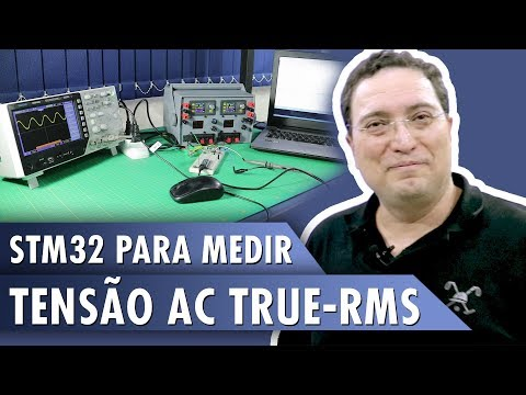 Medindo tensão AC True-RMS