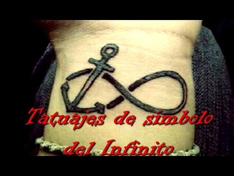 Tatuajes De Símbolo Del Infinito Youtube