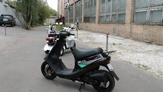 Скутер Honda Dio SR 50 AF25 - Walkaround, Kupiscooter.ru(Наш магазин http://kupiscooter.ru ВКонтакте https://vk.com/kupiscooter Фотографии http://goo.gl/5pVEs3 -- Стоимость скутера на момент публи..., 2016-09-05T07:52:41.000Z)