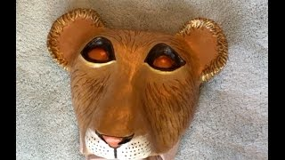 How to Make a Simba Cub Mask