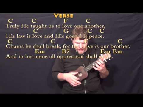 O Holy Night - Ukulele Cover Lesson in C with Chords/Lyrics