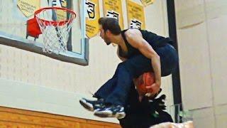 Jordan Kilganon Does ALL AG's Dunks In JEANS! 6'1 Pro Dunker!