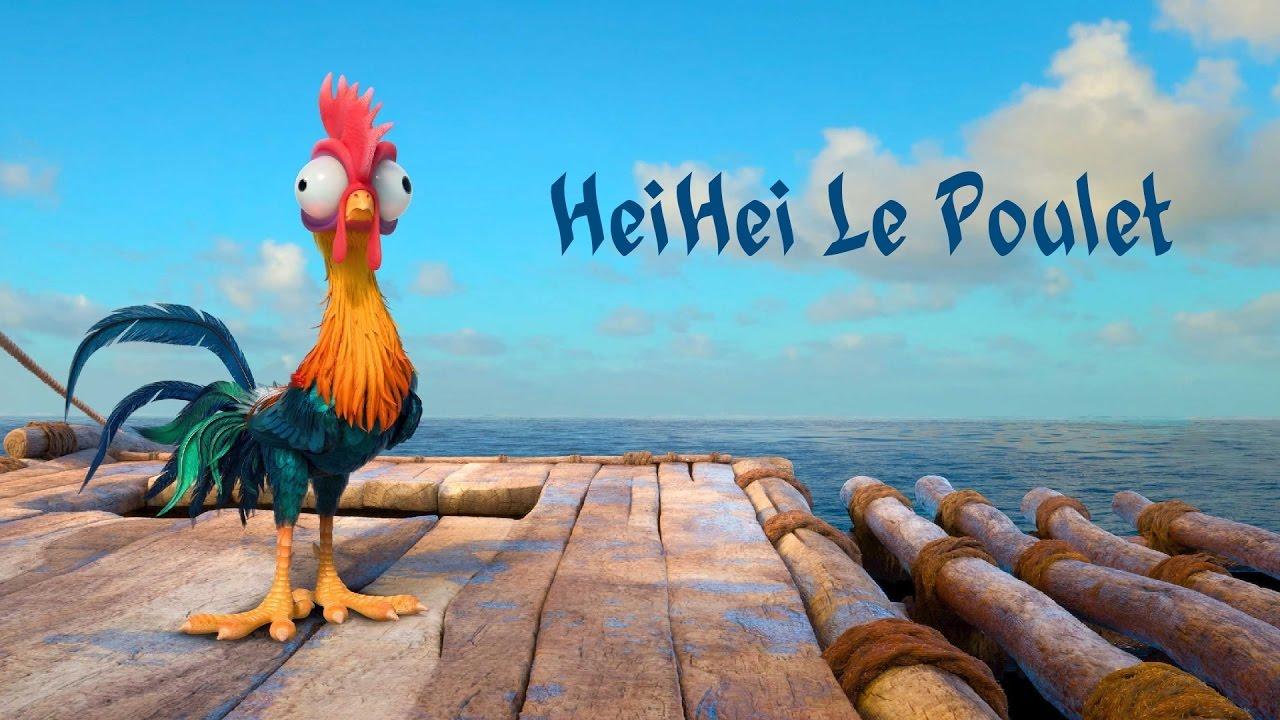 Heihei Le Poulet Vaiana Scenes Fr